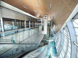 Dubai Metro Station(Interior)
