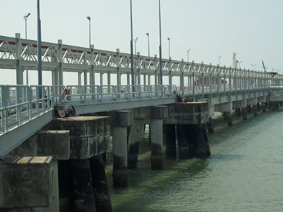 Tanjung Langsat Jetty Pipe Rack